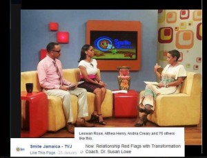 Online Counselling Jamaica on Smile Jamaica TVJ