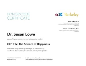 a UC Berkeley course in the neuroscience & practices of happiness